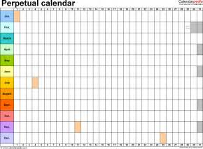 365 Day Calendar Template by Image Gallery 365 Day Calendar 2016
