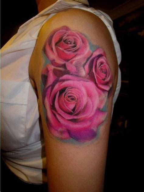 3 rose tattoos 65 trendy roses shoulder tattoos