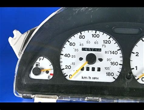 service manual [1995 geo tracker instrument cluster