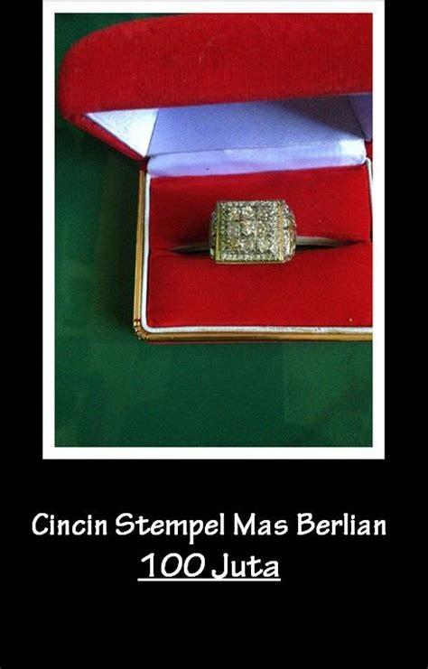 Cincin Stempel Berlian jual cincin stempel berlian harga murah sidoarjo oleh