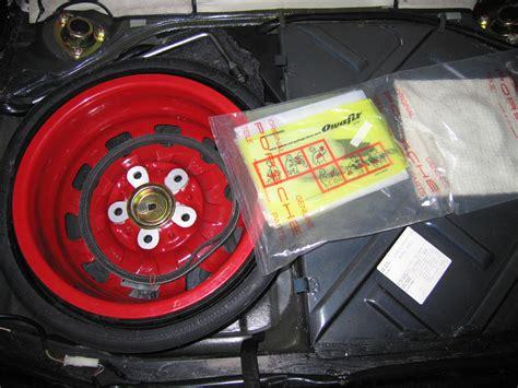 spare tire compressor rennlist porsche discussion forums