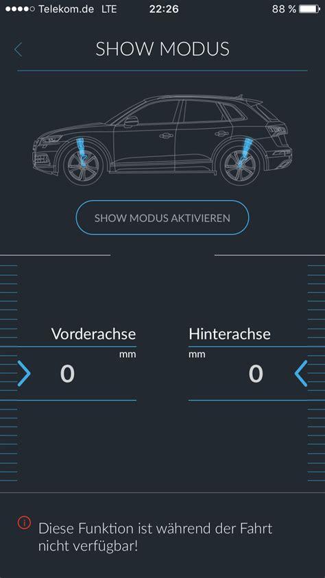 App Zum Tieferlegen by Active Suspension Ble Audi Adaptive Air