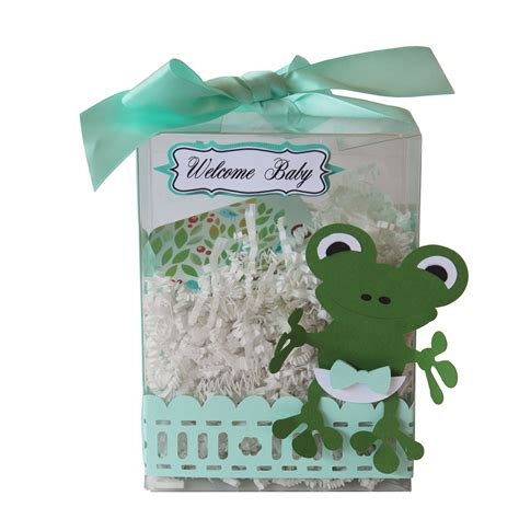 baby shower gift box ideas baby frog gift card box pazzles craft room