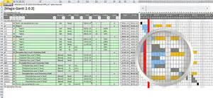 logiciel de planification diagramme de gantt pour excel