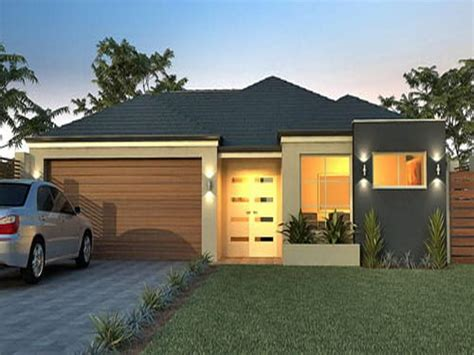 small contemporary house designs small modern single story house plans interior design
