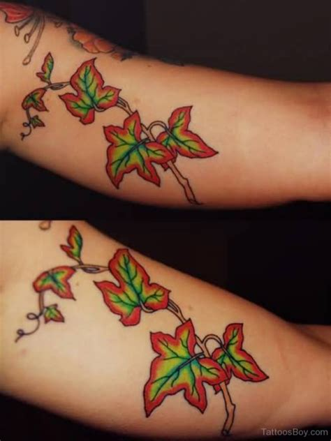 ivy leaf tattoo designs 79 simple leaves design ideas for nature