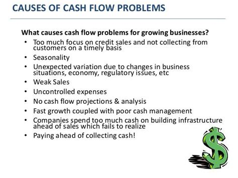 sle cash flow problems common mistakes that growing manufacturers make
