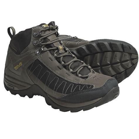 teva biking shoes teva raith mid hiking boots for 4358w save 41