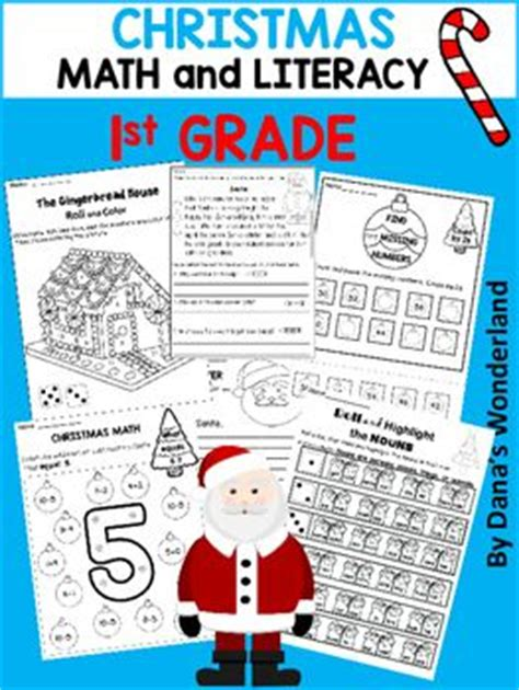 christmas math centers first grade 1st grade activities this product contains activities for 1st grade math and