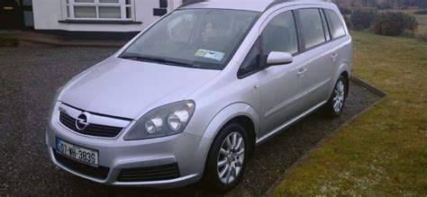 07 opel zafira 16i club 7 seater for sale in turloughmore