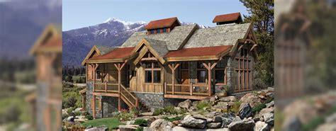 creekside timber frame home design