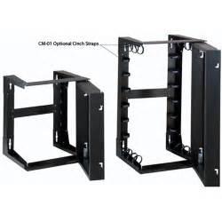 great lakes wall mount swing open rack