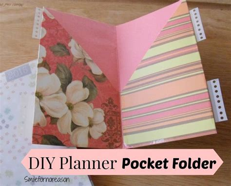 How To Make Paper Folders With Pockets - 10 best ideas about folder diy on paper