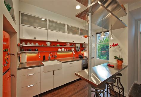 orange and white kitchen ideas kitchen backsplash ideas a splattering of the most