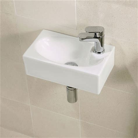 small basin statuette of small wall mounted sink a good choice for