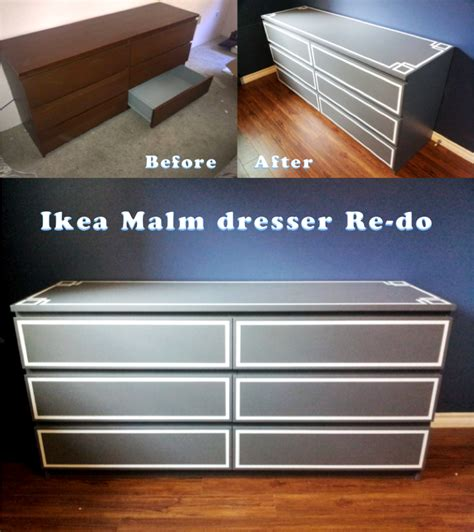 malm dresser painted ikea malm dresser redo got the dresser from craigslist