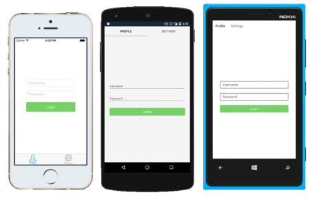 Xamarin Forms Mobile App Development Vandelay Design Xamarin Forms Templates