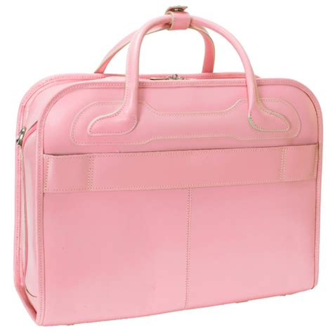 Pink Leather Laptop by Willowbrook Pink Detachable Wheeled Laptop