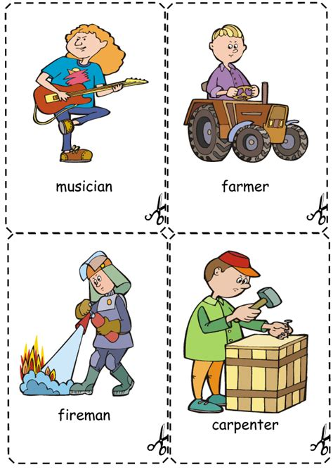 hairdressing games primary jobs flashcards