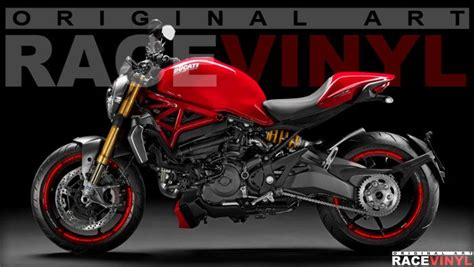 Ducati Monster S4r Aufkleber by Racevinyl Ducati Monster 620 659 696 750 796 800 900 1000
