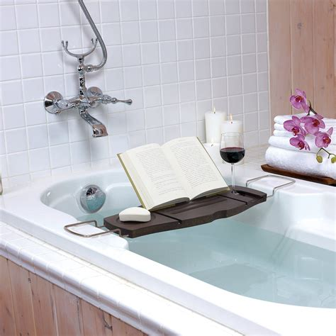 bathtub laptop holder bathroom bathtub laptop wine glass candle holder shelf