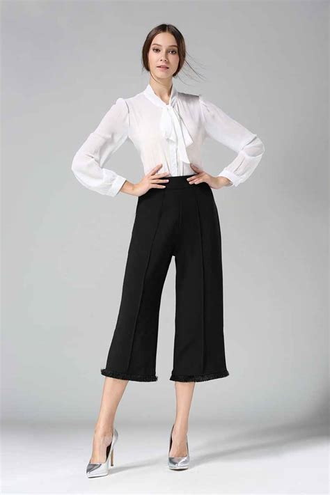 Kulot Overall Wanita Culottes Murah High Quality celana kulot hitam terbaru modis 2017 model terbaru jual murah import kerja
