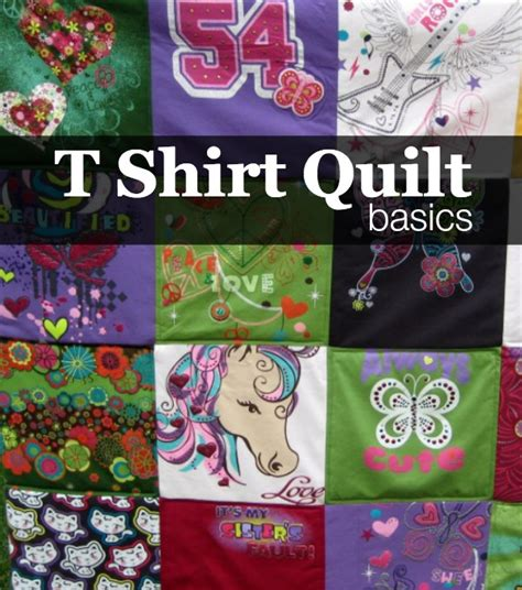 T Shirt Quilt Backing by How To Make A Tshirt Quilt Finishing The Sewing Loft