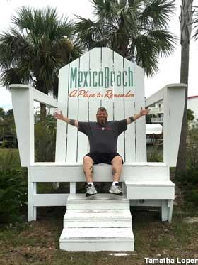 mexico beach fl giant adirondack chair