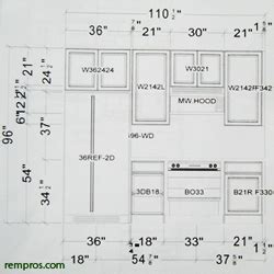 Kitchen cabinets dimensions. Standard cabinets sizes
