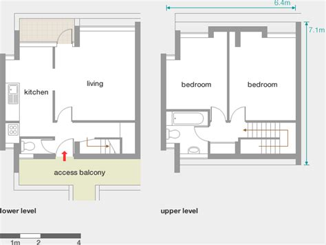 Floor Plan Modern House Keeling House Modern Architecture London