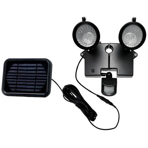 smart solar duo security solar spotlight 167524 solar outdoor lighting at sportsman s guide