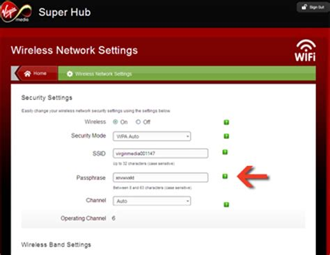 reboot virgin media superhub remotely changing the virgin media router s wireless password