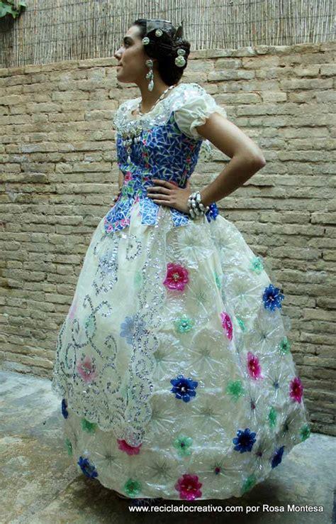 trajes tipicos de la region con material reciclado apexwallpapers traje de fallera valenciana con material reciclado 412