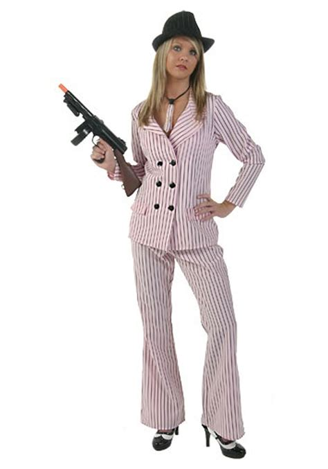 plus size gangster costume women plus pink mobster moll costume plus size gangster