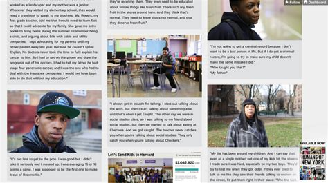 Humans Of New York Stories what you can learn about crowdfunding from humans of new