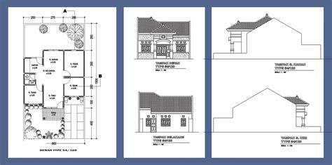 model rumah minimalis type 54 untuk inspirasi anda aga kewl