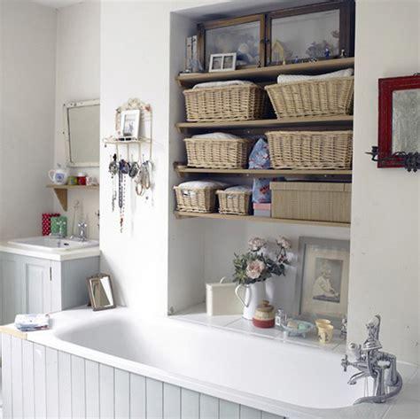 diy wall full of baskets bathroom storage idea my diy home bathroom shelves beautiful and easy diy bathroom
