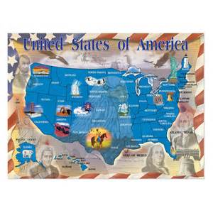 and doug map of the united states jigsaw puzzle at