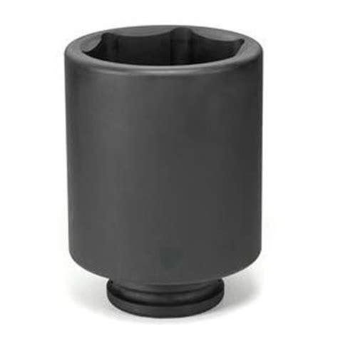 Kunci Sock Impact 75mm 1 Drive Impact Socket Metric Crossman Usa 1 1 2 drive x 75mm impact socket grey pneumatic 6075md
