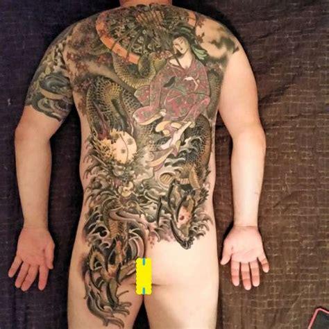 tattoo full back japanese japanese full back tattoo