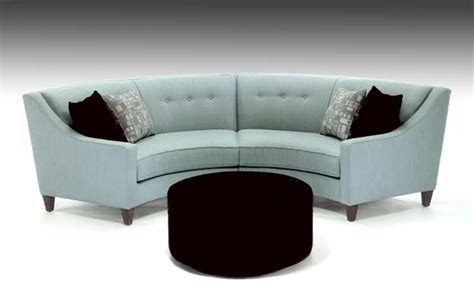 curved couch curved custom fabric sectional sofa avelle 531 custom sofas