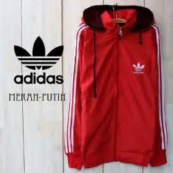 Jaket Parasut Nike List Merah jaket parasut adidas termurah ecer grosir ainul jaket