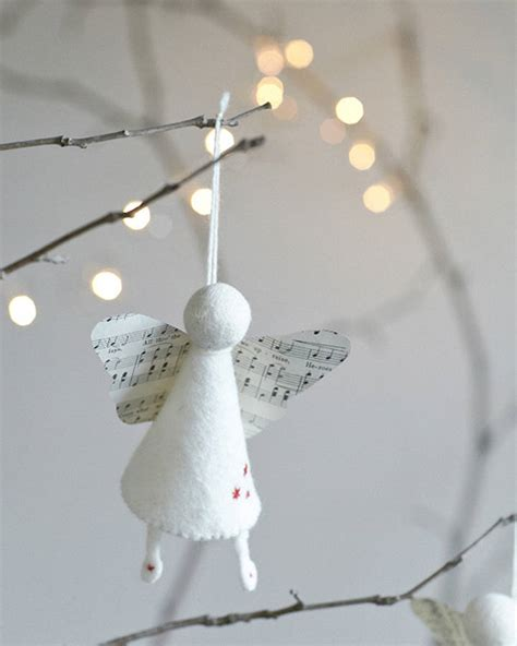 Handmade Decorations To Make - handmade felt decoration by rastall and daughters