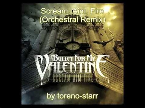 bullet for my scream aim album bullet for my scream aim orchestral