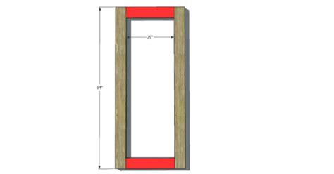 free diy plans reclaimed weathered wood standing floor mirror the design confidential