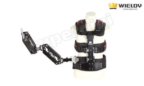 Wieldy Pro 1 7 5kg Vest Dual Arm Systems For Dslr 1 7 5kg carbon fiber steadicam stabilizer vest dual arm