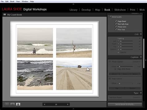 change layout module yii lightroom 4 book module changing and refining page