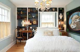 midnight blue bedroom accent wall decoist