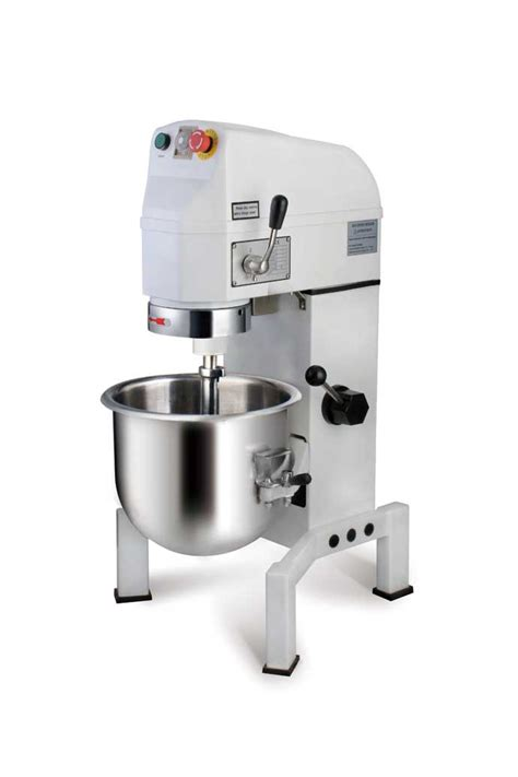 Mixer Berjaya 10 Liter 10l gear and belt transmission with timer planetary food mixer b10k 1