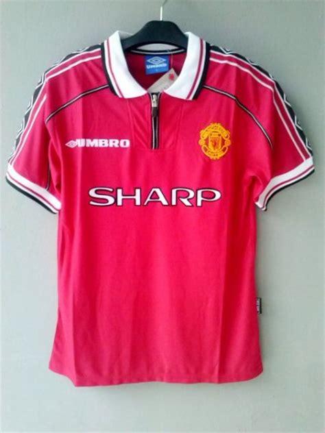 Jersey Retro Clasic Mu Home Grade Ori jersey retro mu home 1999 jersey bola grade ori murah
